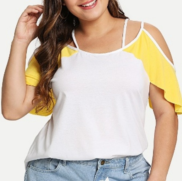 Tops - Flirty Cut-outs & Cold Shoulders Summer Top